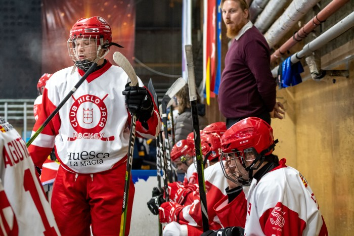 El Club Hielo Jaca cae ante el Nordic Vikings en la prórroga tras un disputado duelo