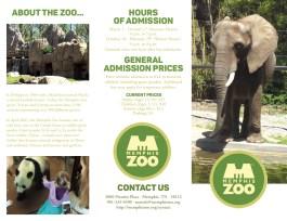 Memphis Zoo Brochure