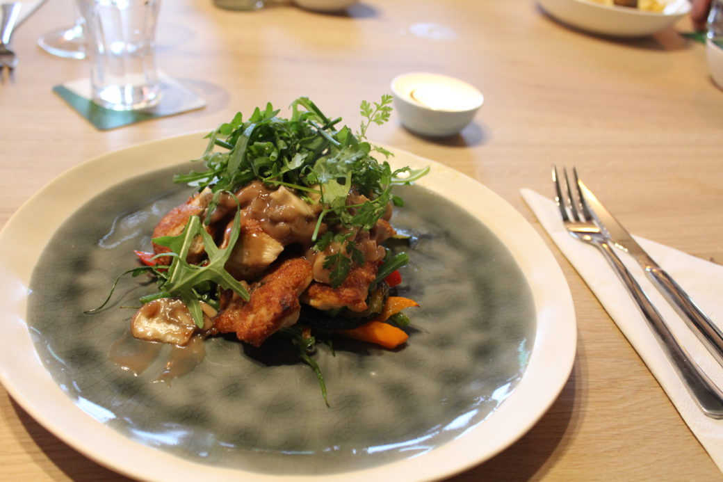 Brasserie Nauerna offers delicious menu's from fresh produce