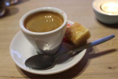 Ausgezeichnete Koffee bei Restaurant Nauerna