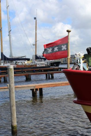 Op een uurtje varen van Amsterdam