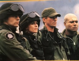 A group shot of the Stargate SG-1 team from the tie-in novel The Morpheus Factor by Ashley McConnell