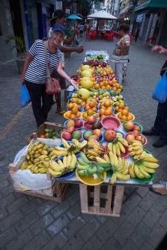 vitoria, des fruits plein les rues