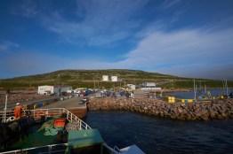 Ferry de Ste Barbe à Blanc Sablon