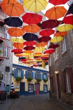 Québec city se protège de la pluie