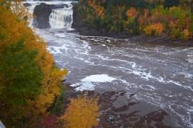 Une chute d'eau autour de Québec