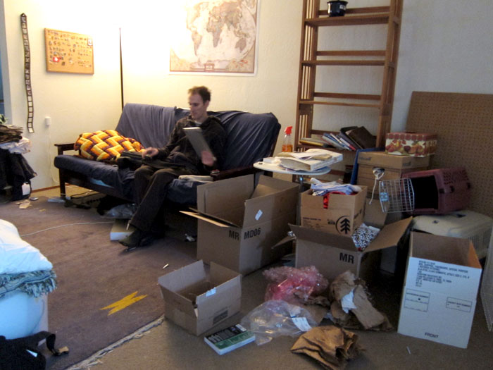 pre-rtw messy apartment