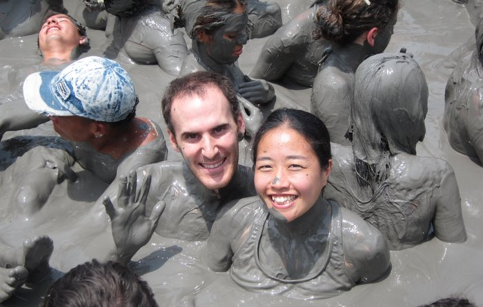 Jack and Jill at the Vulcan del Totumo