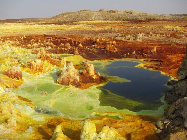 Colorful Dallol, Danakil, Ethiopia