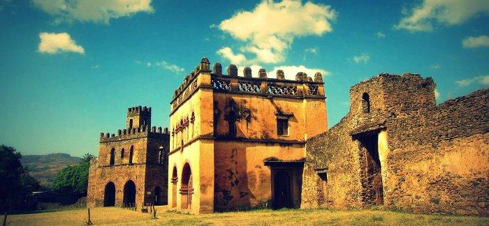 Gonder castle, Ethiopia