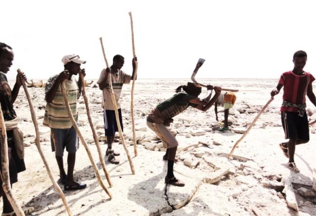 Afar Salt Mine - Danakil Depression, Ethiopia