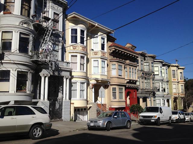 San Francisco row of houses