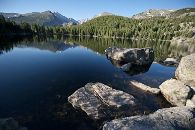 bear lake rocky mountain