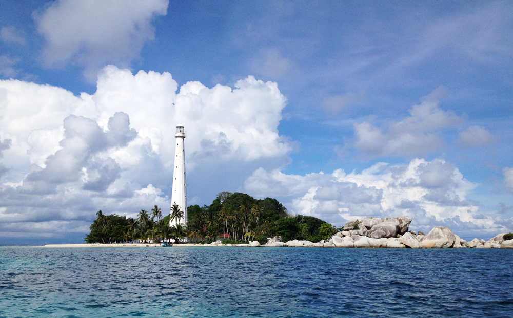 Lighthouse on Lengkuas Island, Belitung