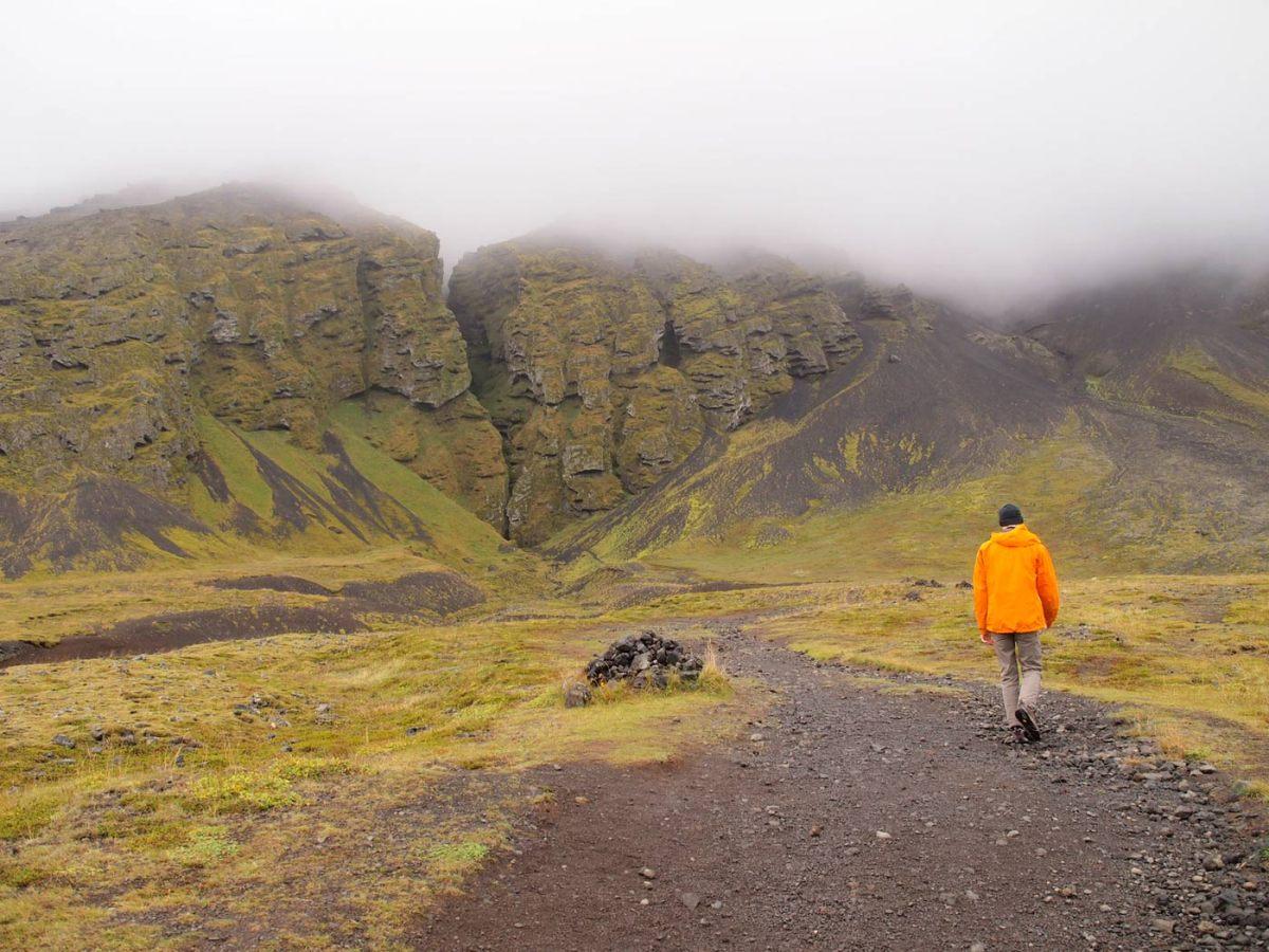 Rauðfeldar, Iceland's Canyon of Doomed Birds