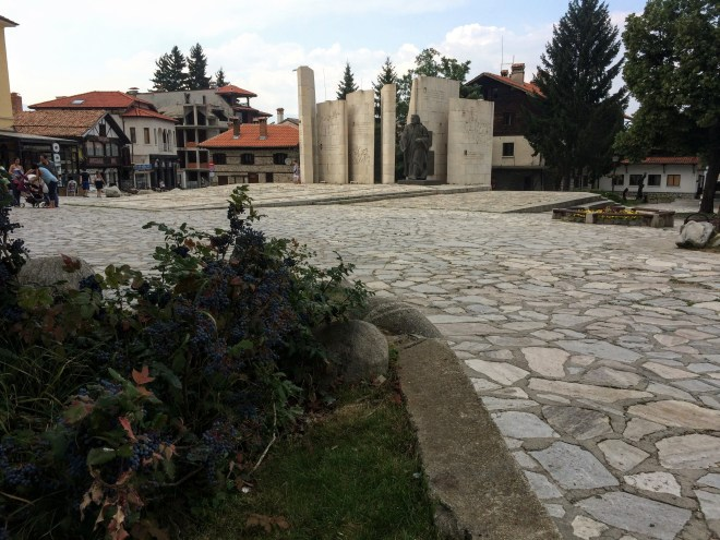 Center square in Bansko