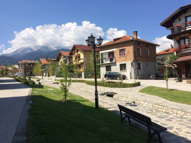 Bansko new residential area