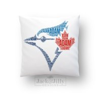 SPORTS TEAM NAME PILLOW  Jack & Jilly Designs