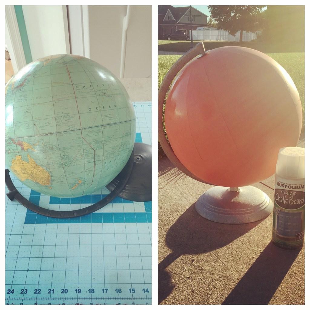 Abby's Chalkboard Globe