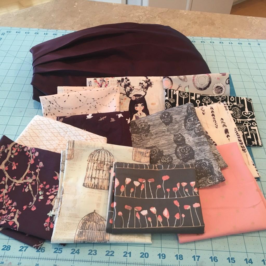 Bridesmaid Dress - Baby Quilt 2 bundle