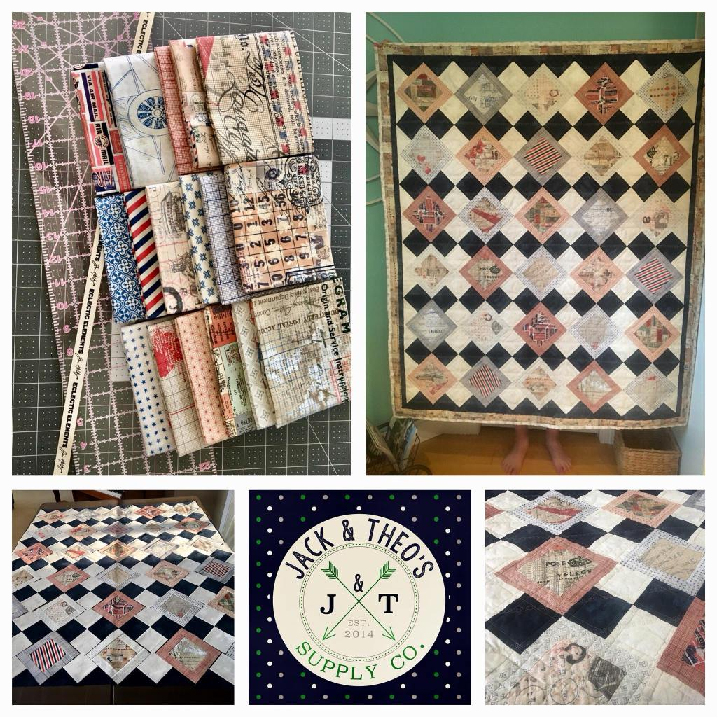 Dallas & Hazel's Travel Throw Quilt