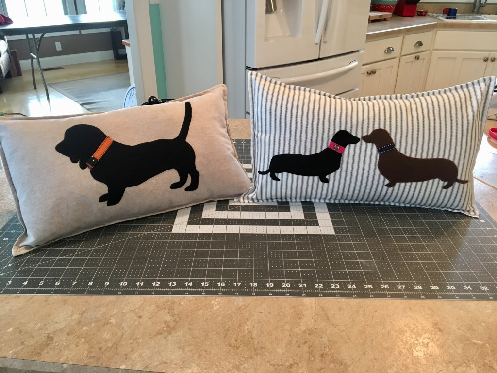 Dog Breed Throw Pillows