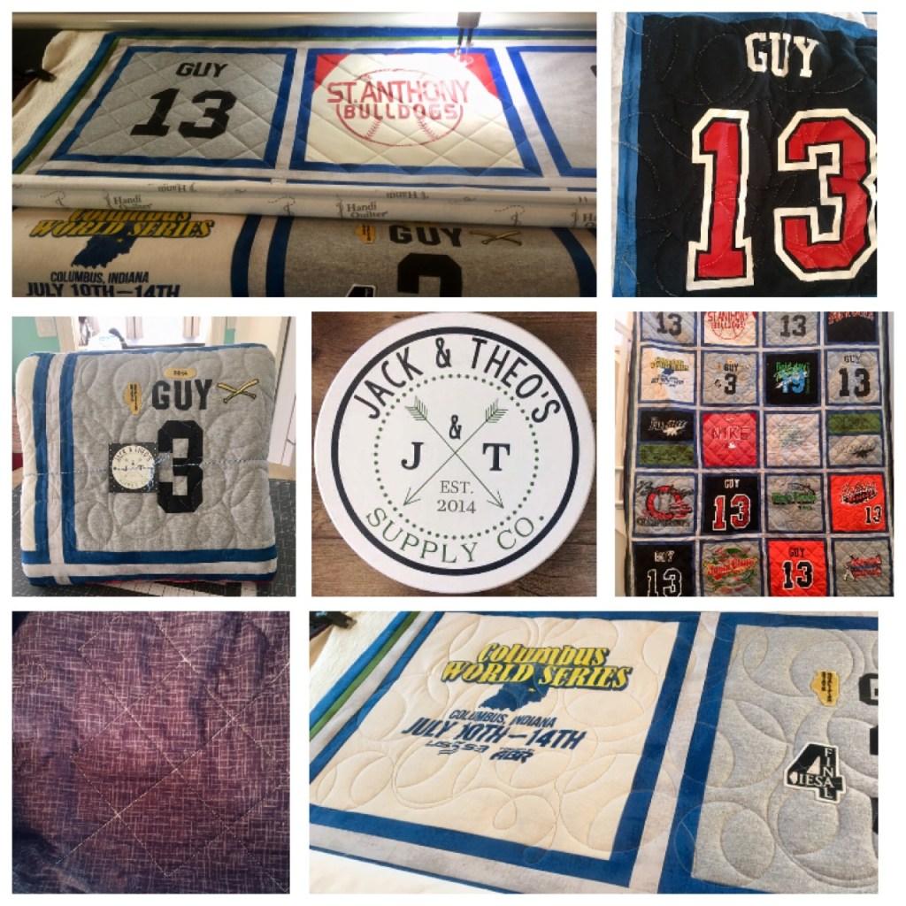 Dylan's Senior Grad T-Shirt Quilt - St. Anthony High School