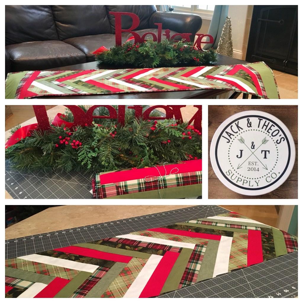Steph's Christmas Table Runner