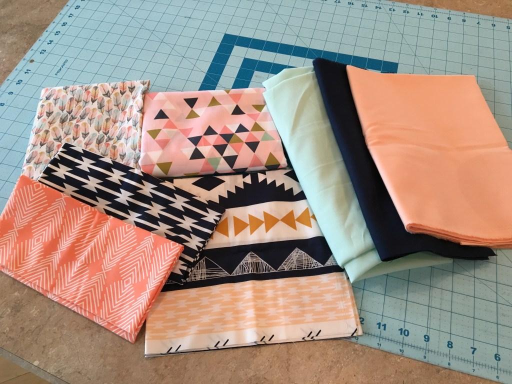 Wedding Shower Aprons - fabric bundle
