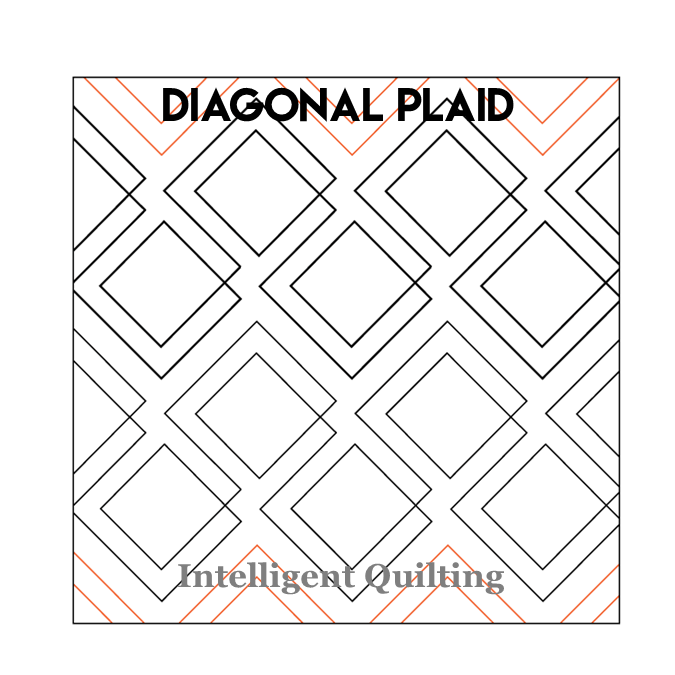 Diagonal Plaid Digital Pantograph