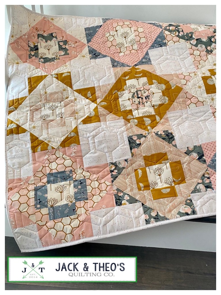Teagan's Meadowland Bespoke Custom Quilt Jack & Theo's Quilting Co