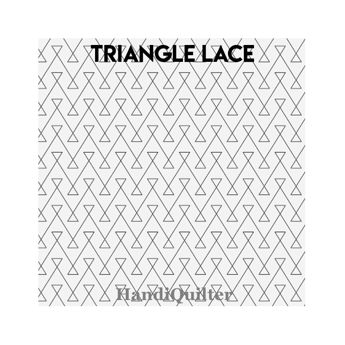 Triangle Lace Digital Pantograph