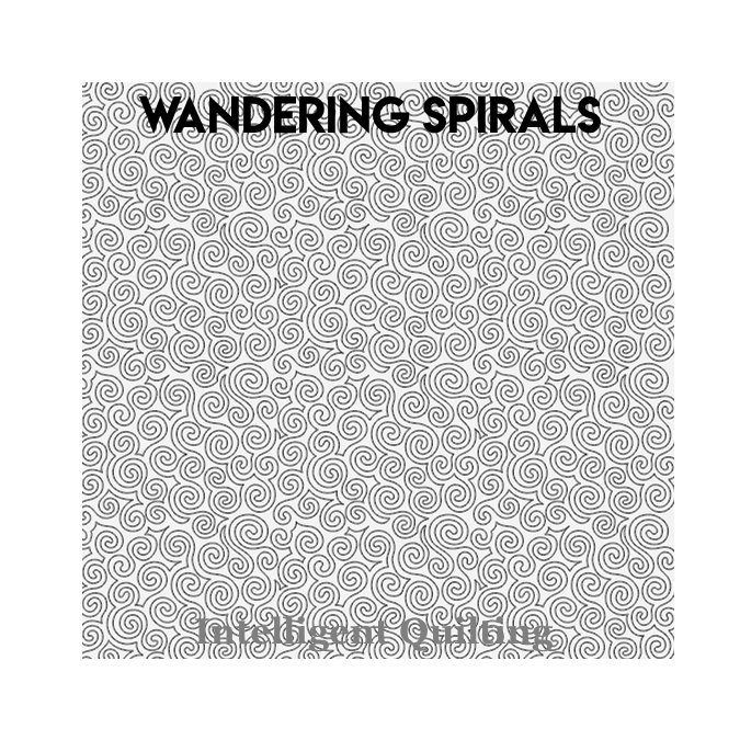 Wandering Spirals Digital Pantograph