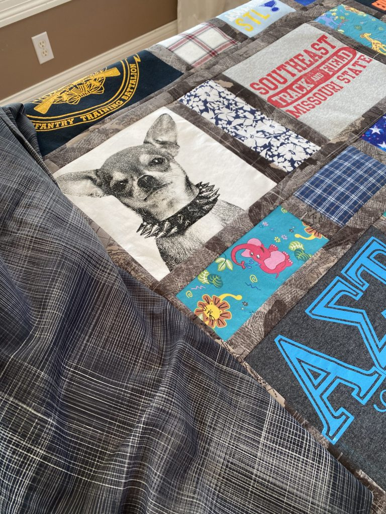 Baby Family Memory Quilt