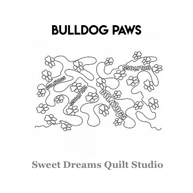 Bulldog Paws - Sweet Dreams