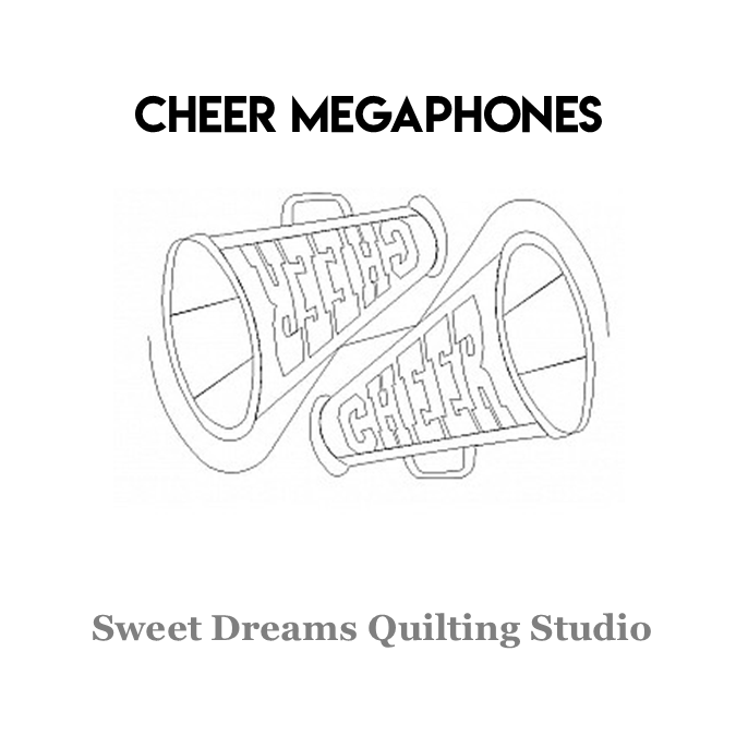 Cheer Megaphones - Sweet Dreams