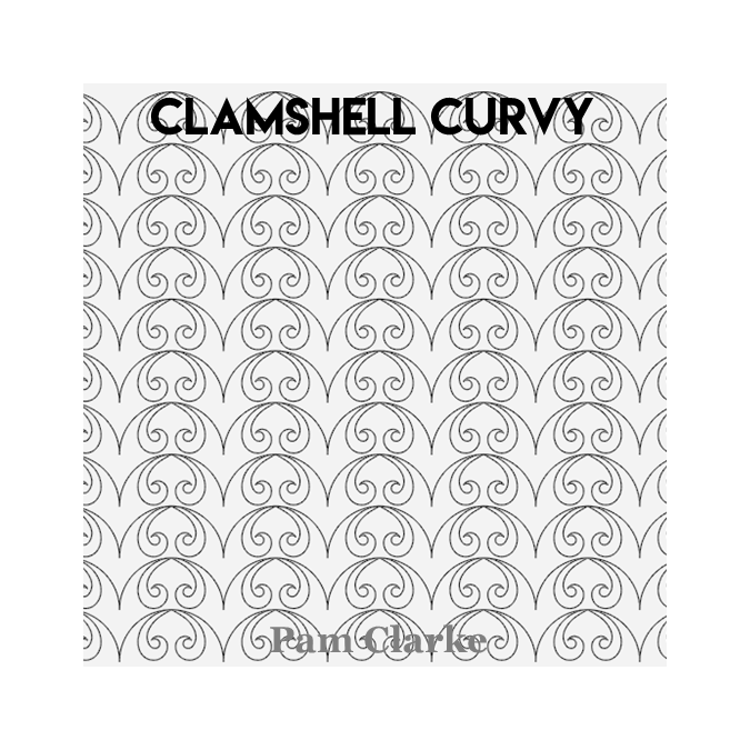 Clamshell Curvy - Pam Clarke