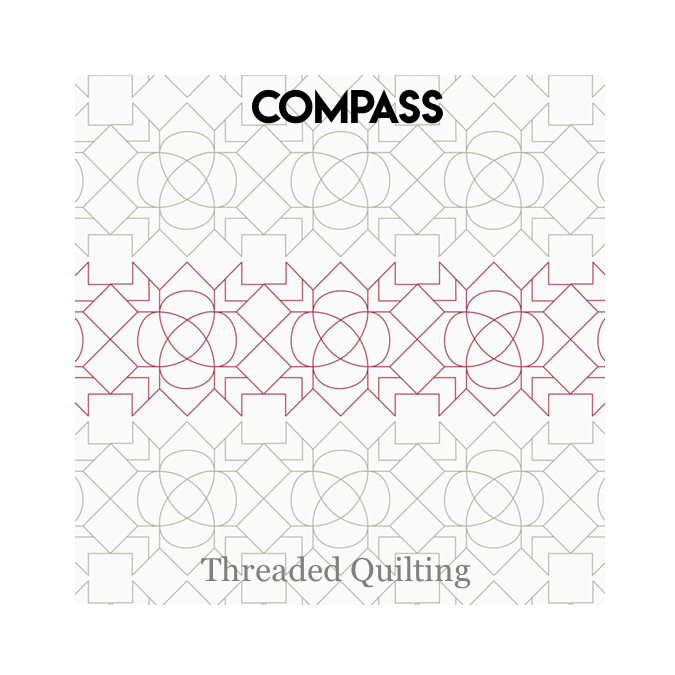 Compass - Threaded Quilting