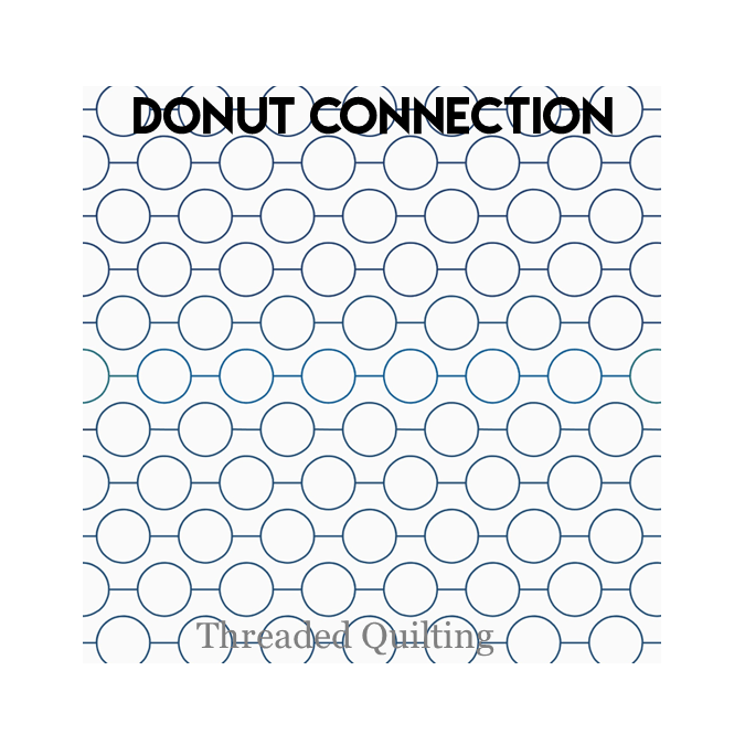 Donut Connection - Threaded Quilting