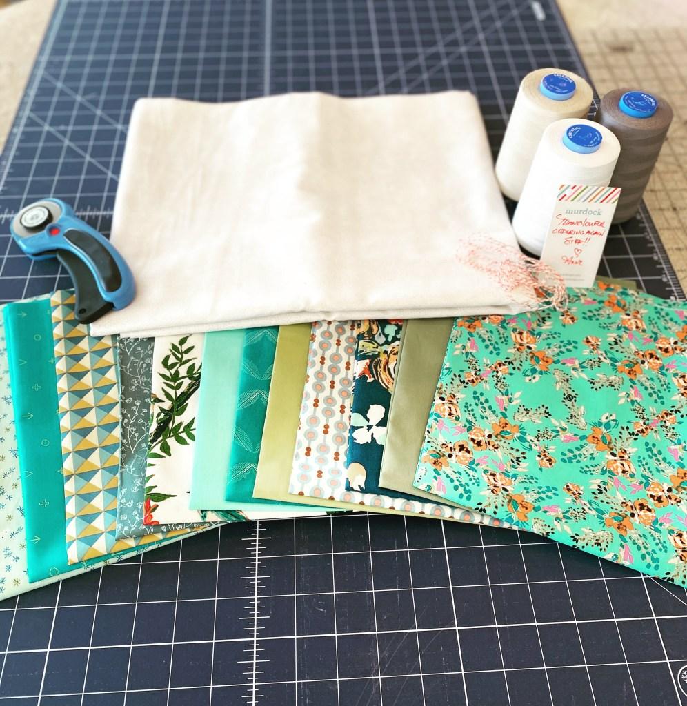 Eliza's Quilt - Custom Fabric Bundle - Art Gallery Fabrics - Murdock Design and Textiles