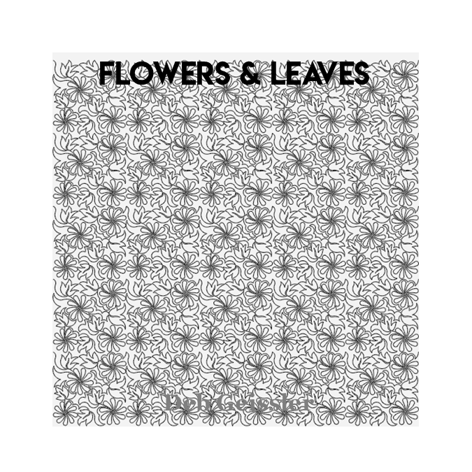Flowers . Leaves - Deb Geissler