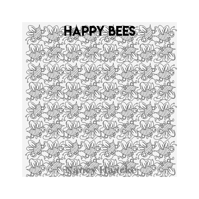 Happy Bees - Nancy Haacke