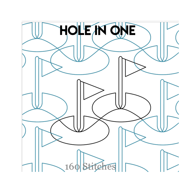 Hole in One - 160 Stitches