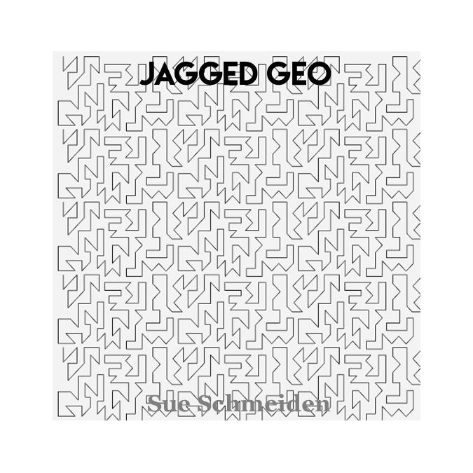 Jagged Geo - Sue Schmeiden