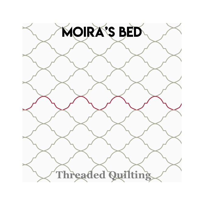 Moira's Bed - Threaded Quilting