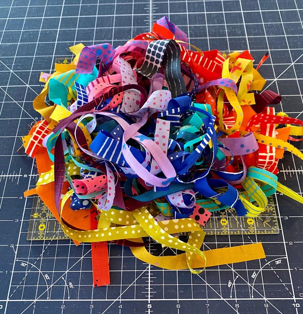 Rainbow Scraps - Alison Glass Chroma Fabrics