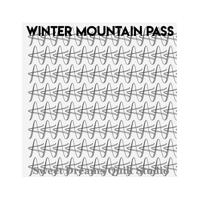 Winter Mountain Pass - Sweet Dreams