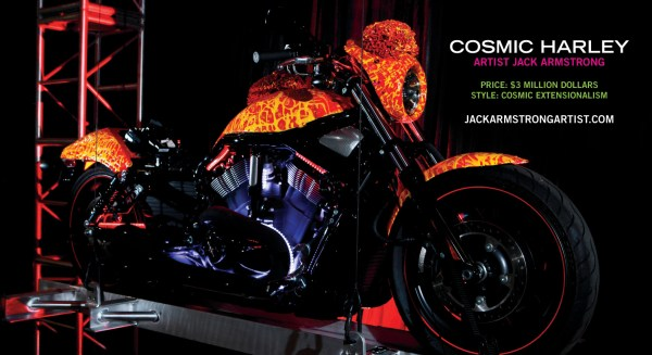 Jack Armstrong - Cosmic Artist 3 Million Dollar Bicycle