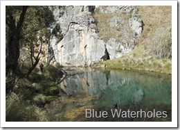 Blue Waterholes