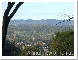 A final view of Tumut